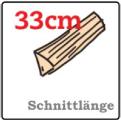 Brunner WF 33 Schnittlänge