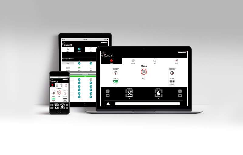 Thermorossi iControl App Steuerung