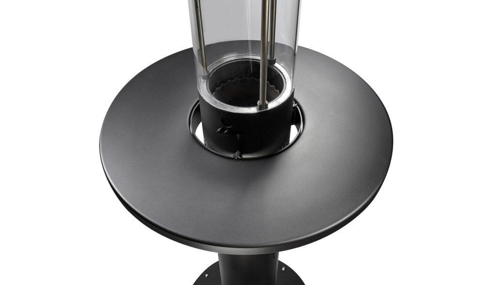 Pellet Heizpilz Tisch klein