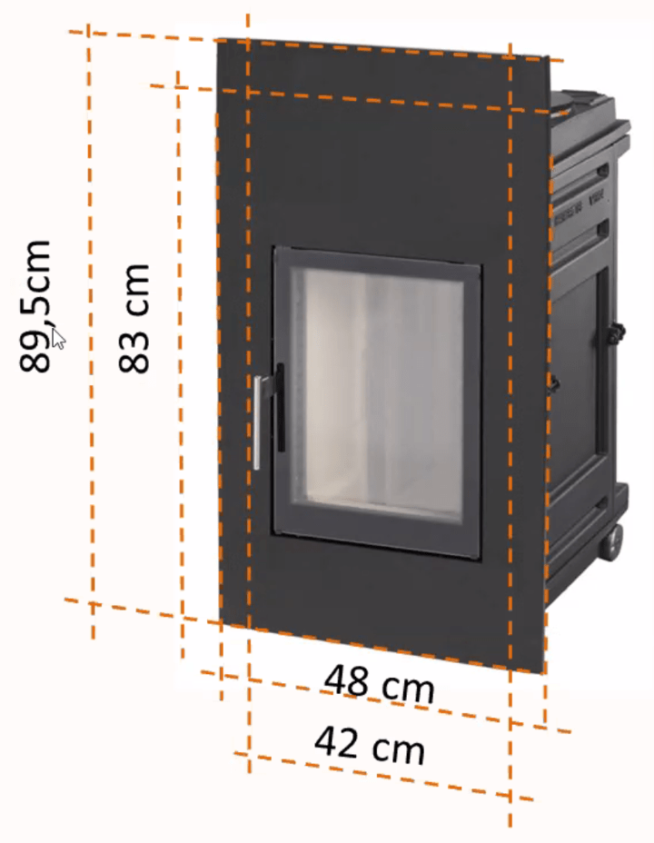 Hafnertec WFR XL Frontplattenmaße